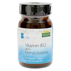 VITAMIN B12 aktiv Methylcobalamin Kapseln 120 Stück