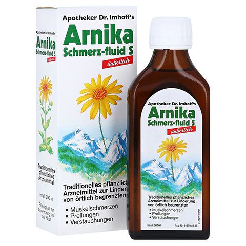 APOTHEKER Dr.Imhoff's Arnika Schmerz-fluid S 200 Milliliter
