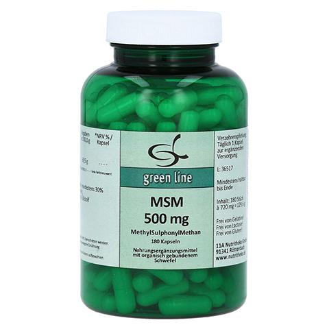 MSM 500 mg Kapseln 180 Stück