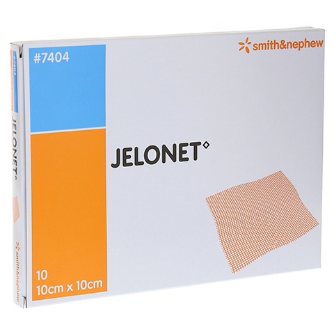 Jelonet Paraffingaze 10x10 cm steril 10 Stück
