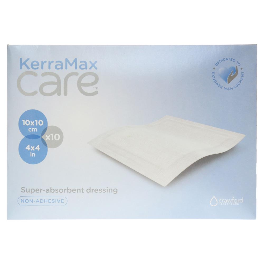 KERRAMAX care 10x10 cm Verband nicht klebend 10 Stück