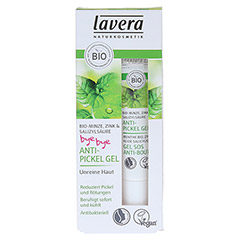 LAVERA Anti-Pickel Gel Minze 15 Milliliter - Vorderseite