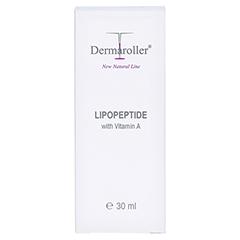 DERMAROLLER New Natural Line Lipopeptide Creme 30 Milliliter - Vorderseite