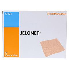 Jelonet Paraffingaze 10x10 cm steril 10 Stück - Vorderseite