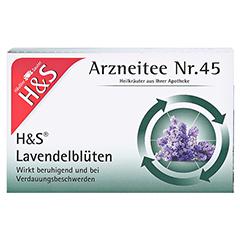 H&S Lavendelblüten 20x1.0 Gramm - Vorderseite