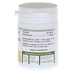 GRIFFONIA 5-HTP 100 mg Langzeit Tabletten 100 Stück - Linke Seite