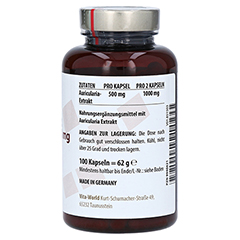 AURICULARIA EXTRAKT Bio 500 mg Kapseln 100 Stück - Linke Seite