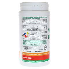WHEYPROTEIN lactosefrei Vanille Pulver 400 Gramm - Rechte Seite