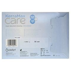 KERRAMAX care 10x10 cm Verband nicht klebend 10 Stück - Rückseite