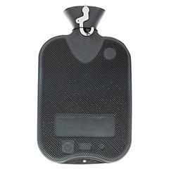 FASHY Wärmflasche Doppellamelle anthrazit 1 Stück - Rückseite