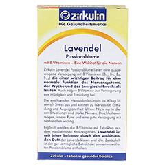 ZIRKULIN Lavendel Passionsblume Kapseln 30 Stück - Rückseite