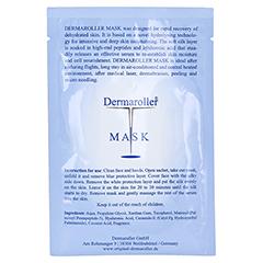 DERMAROLLER Mask Einzelpackung 1 Stück - Rückseite