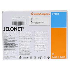 Jelonet Paraffingaze 10x10 cm steril 10 Stück - Rückseite