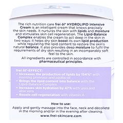 FREI ÖL Hydrolipid IntensivCreme 50 Milliliter - Linke Seite