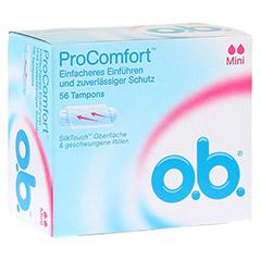 O.B. Tampons ProComfort mini 56 Stück