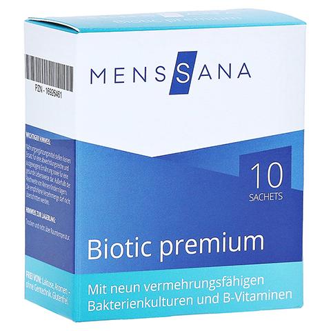 BIOTIC premium MensSana Beutel 10x2 Gramm