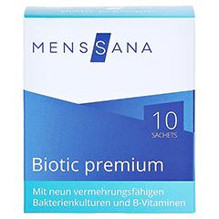 BIOTIC premium MensSana Beutel 10x2 Gramm - Vorderseite