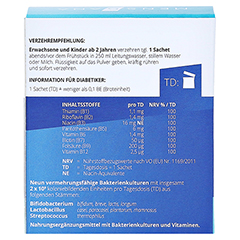 BIOTIC premium MensSana Beutel 10x2 Gramm - Rückseite