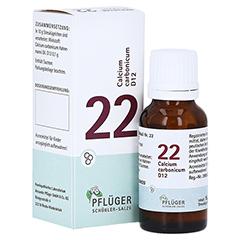 BIOCHEMIE Pflüger 22 Calcium carbonicum D 12 Glob. 15 Gramm N1