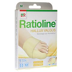 RATIOLINE Hallux valgus Bandage zur Korrektur Gr.M 1 Stück