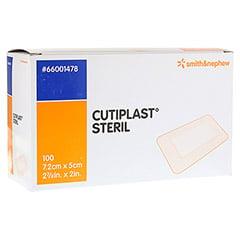 CUTIPLAST steril Wundverband 5x7,2 cm 100 Stück