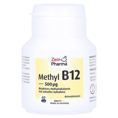 VITAMIN B12 500 µg Methylcobalamin Lutschtabletten 60 Stück