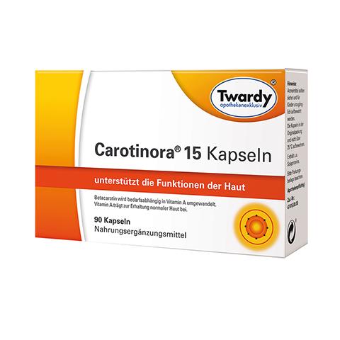 CAROTINORA 15 Kapseln 90 Stück
