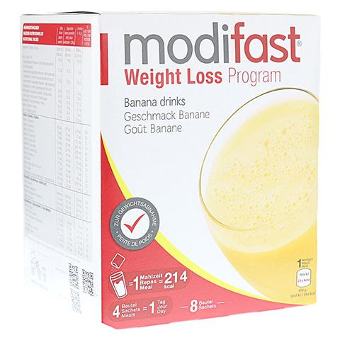 MODIFAST Programm Drink Banane Pulver 8x55 Gramm