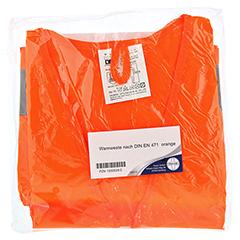 WARNWESTE DIN EN471 orange 1 Stück