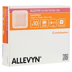 ALLEVYN Gentle Border Lite 7,5x7,5 cm Schaumverb. 10 Stück