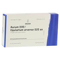 AURUM D 30/Equisetum arvense D 20 aa Ampullen 8x1 Milliliter N1