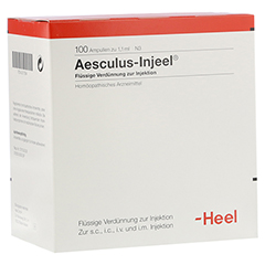 AESCULUS INJEEL Ampullen 100 Stück N3