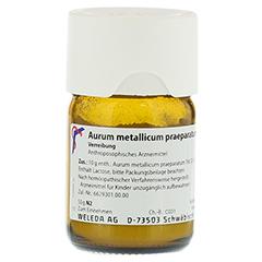 AURUM METALLICUM PRAEPARATUM D 15 Trituration 50 Gramm N2