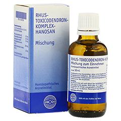 RHUS TOXICODENDRON KOMPLEX Hanosan 50 Milliliter N1