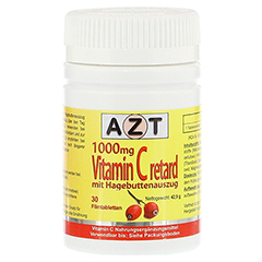 VITAMIN C 1000 mg Retard mit Hagebuttenauszug 30 Stück