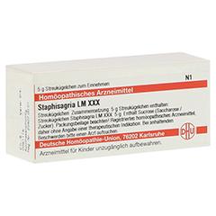LM STAPHISAGRIA XXX Globuli 5 Gramm N1