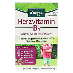 KNEIPP Herzvitamin B1 Kapseln 30 Stück - Vorderseite