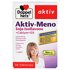 DOPPELHERZ Aktiv-Meno Tabletten 30 Stück - Vorderseite