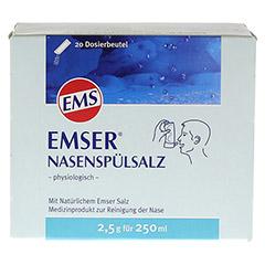 Emser Nasenspülsalz physiologisch 20 Stück - Vorderseite