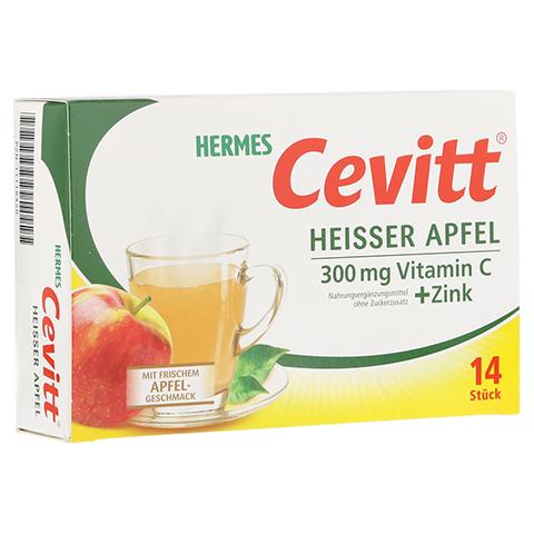 HERMES Cevitt heißer Apfel Granulat 14 Stück