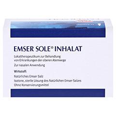 Emser Sole Inhalat Lösung für einen Vernebler 20 Stück N2 - Vorderseite
