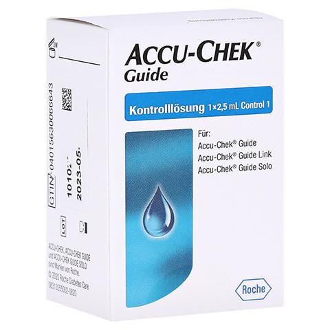 ACCU-CHEK Guide Kontrolllösung 1x2.5 Milliliter