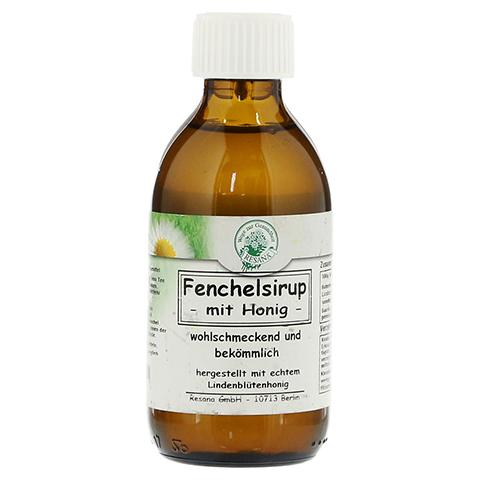 FENCHELSIRUP mit Honig 200 Milliliter