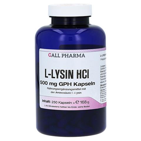 L-LYSIN 500 mg Kapseln 250 Stück