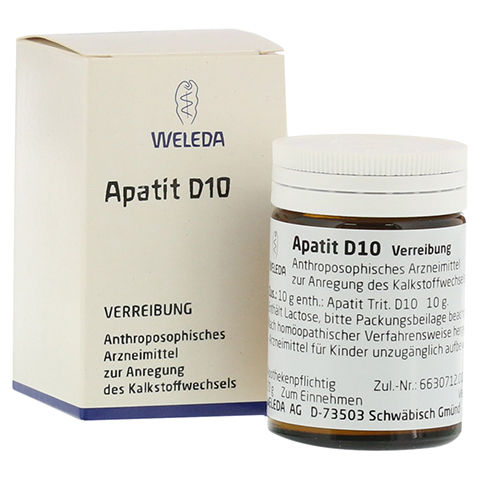 APATIT D 10 Trituration 20 Gramm N1