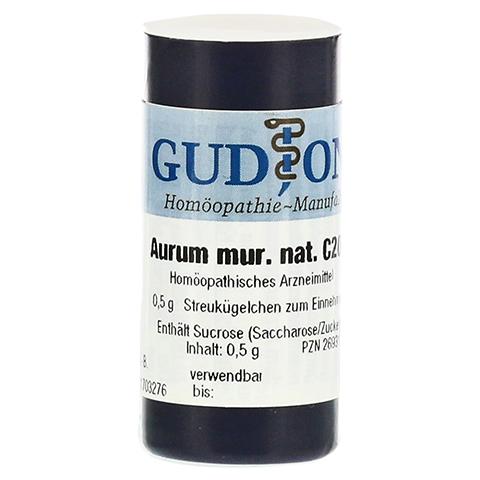AURUM MURIATICUM NATRONATUM C 200 Einzeldosis Gl. 0.5 Gramm N1