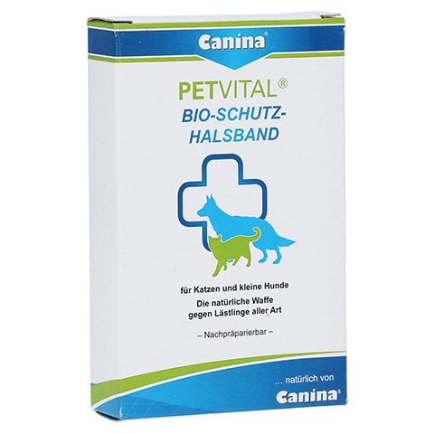 PETVITAL Bio Schutz Halsband klein 35 cm vet. 1 Stück