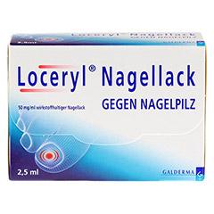 Loceryl Nagellack gegen Nagelpilz 2.5 Milliliter N1 - Vorderseite