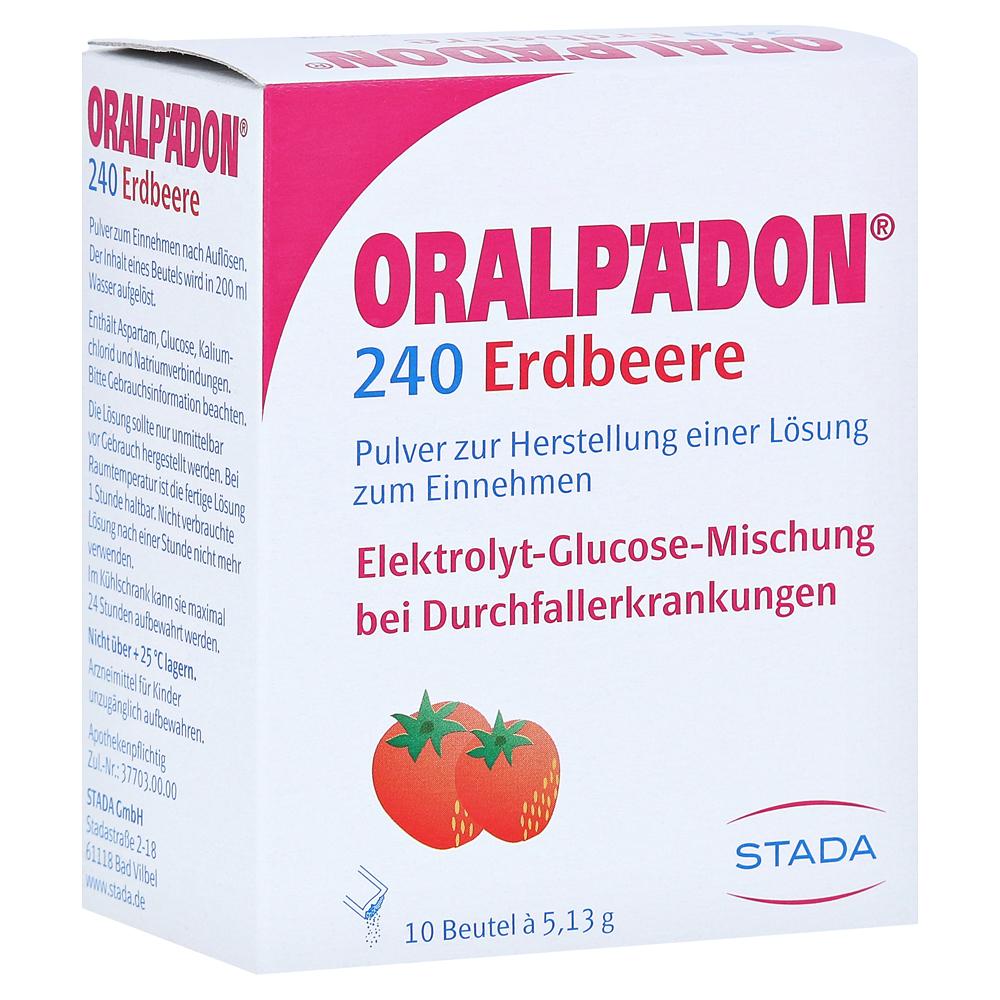 Oralpädon, sehr gutes Elektrolyt-Getränk - Oralpädon 240 Erdbeere ...