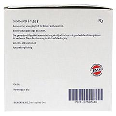 Emser Salz im Beutel 2,95g 100 Stück N3 - Linke Seite